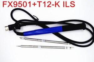 Image 4 - NOVFIX puntas T12 con mango 9501 para Estación de soldadura Hakko FX951 950, herramientas de soldadura eléctrica, 2 uds.