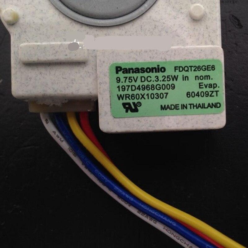 1 шт. подходит для холодильника вентилятор двигателя FDQT26GE6 FDQT26GE8 197D4968G009 с датчиком температуры