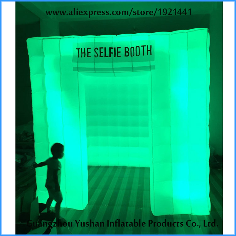 VENDITA Gonfiabile Photo Booth Enclosure con Luci A LED Portatile <font><b>Photobooth</b></font> image