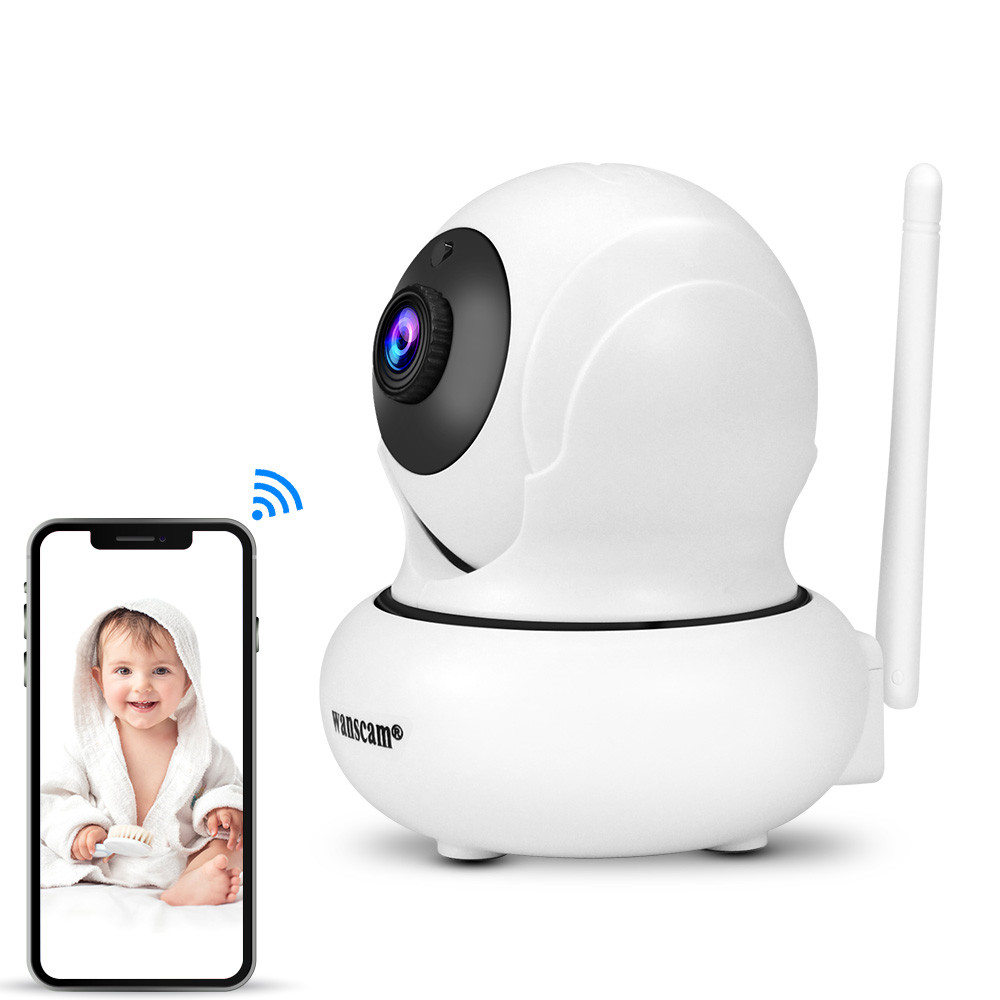 Wanscam 1080P IP Camera Wireless WIFI Video Doorbell Network CCTV Surveillance Camera Night Vision Motion Detection Baby Monitor
