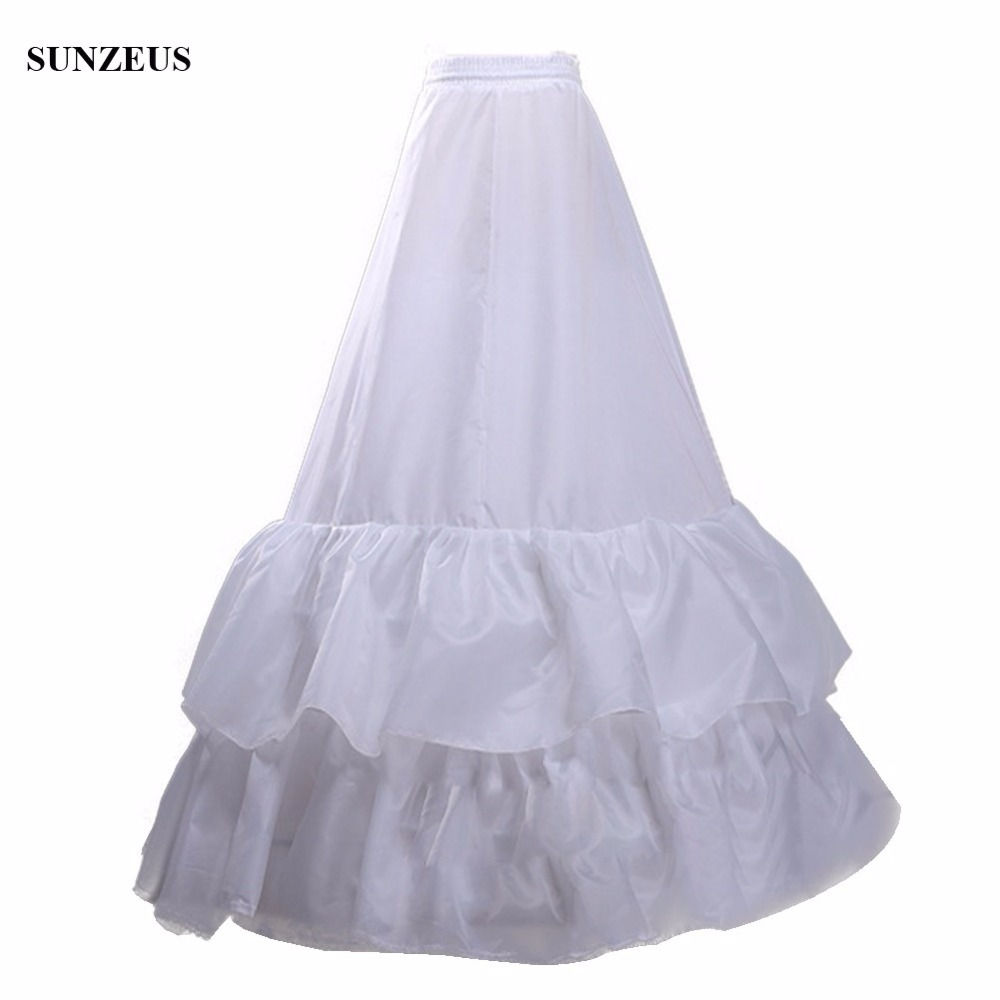 And Children Amiable 2 Hoop 2 Layers Ruffles Long Bridal Wedding Accessories Crinoline A-line Dress Petticoat Gelinlik Aksesuarlar S41 Suitable For Men Women