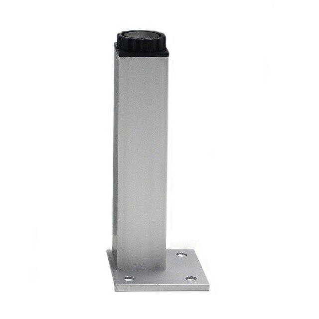 Voorkeur 4 stuks 25cm poten van uw meubilair kast voeten aluminium metalen QE03