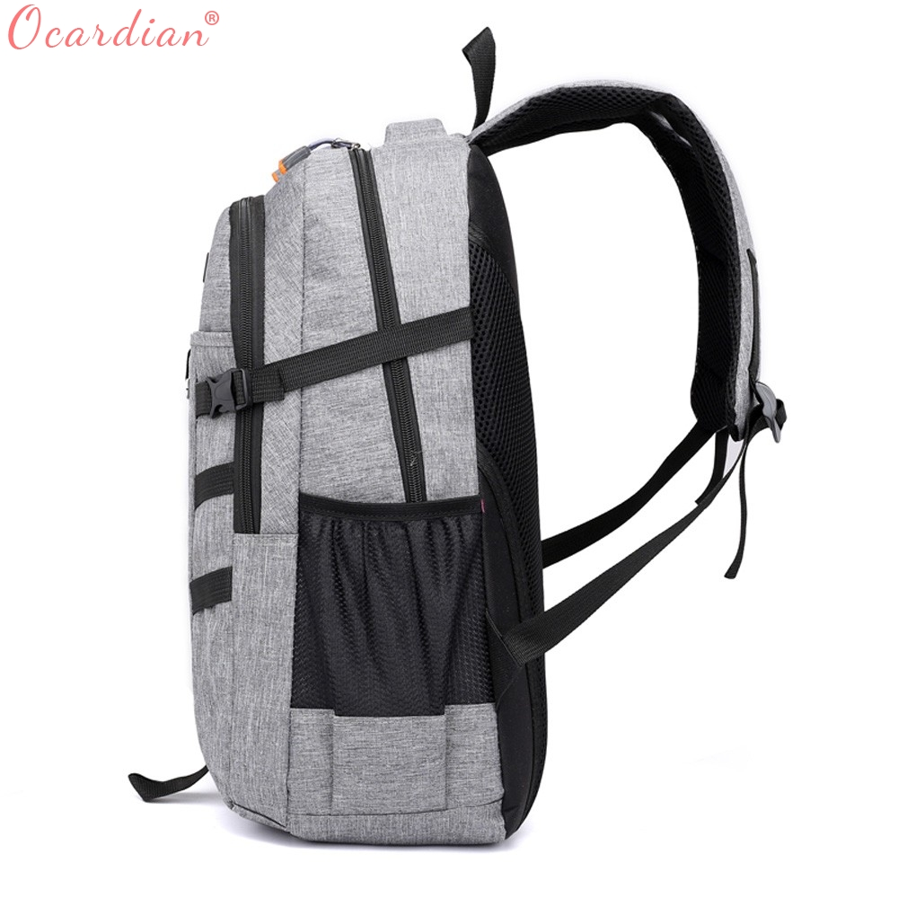 Ocardian Backpacks Unisex Large Capacity Travel School Backpack Women Backpacks Nylon Waterproof Backpack Men Jl 16 #2