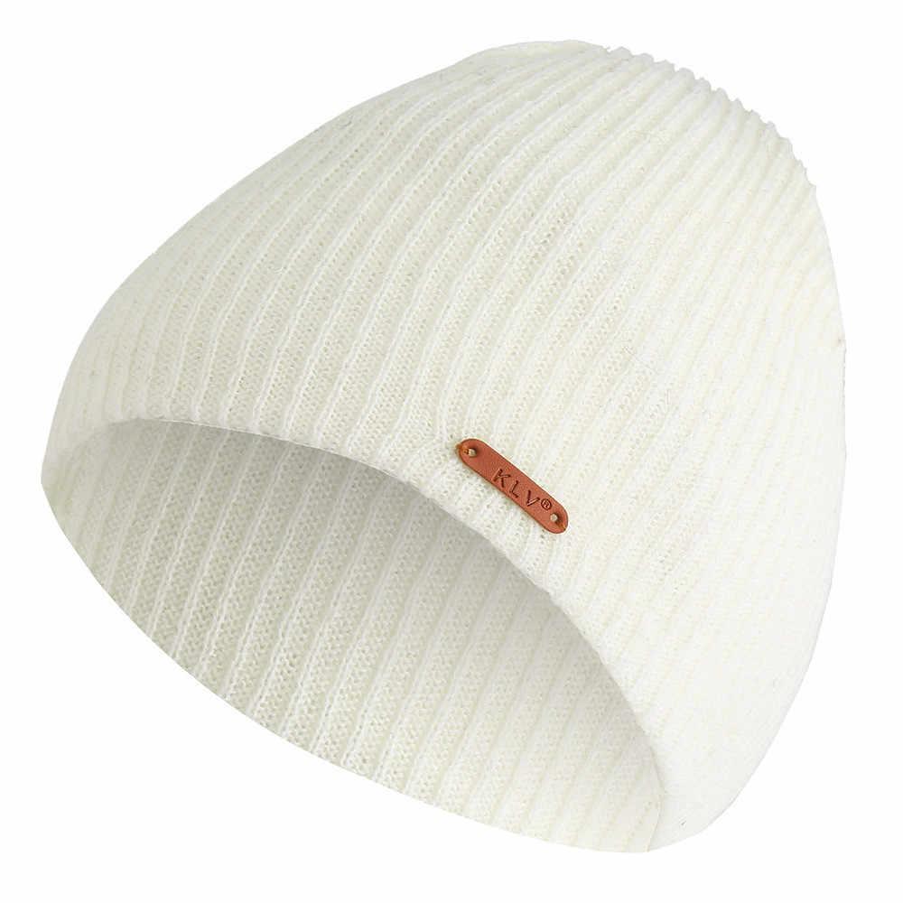 Beanie женские мужские шапки мешковатые теплые вязаные крючком зимние шерстяные вязаные Лыжные шапки шапка для девочки шапки зимние женские 2019