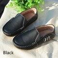 Детская школьная обувь для мальчиков из натуральной кожи  лоферы  детские кроссовки  детская повседневная обувь