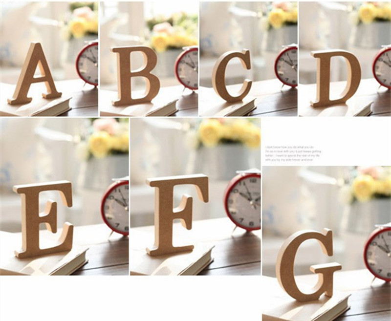 Aliexpress Com Buy Diy Home Decor Wooden Letters For Decorations Wood Craft Hearts Nautical Decor Wedding