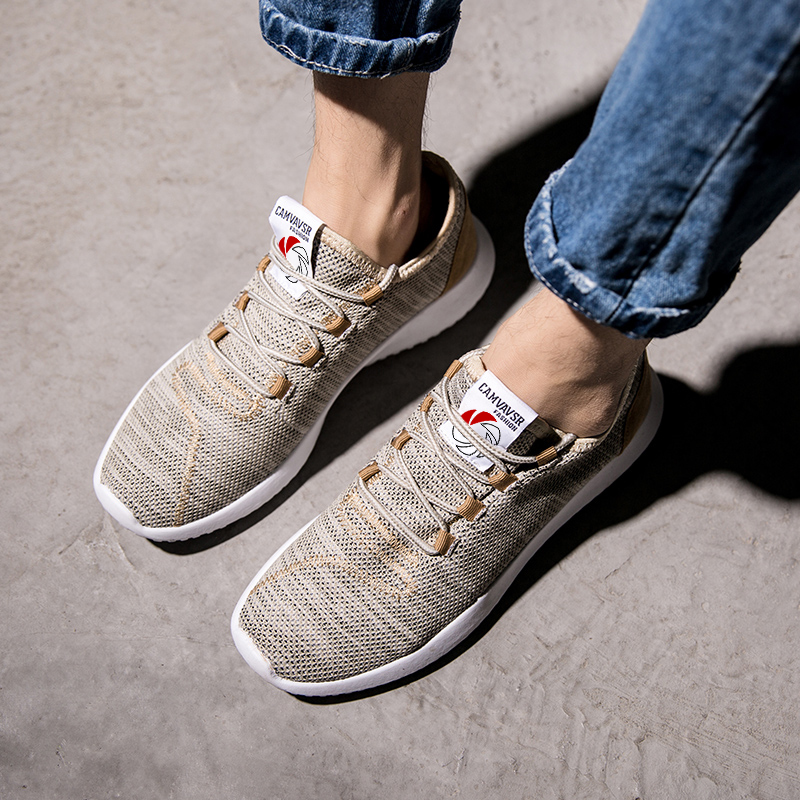 Camouflage gray Weweya red Gold Bleu Adulto Casual 35 Ultra Unisexe Hommes Maille Espadrilles 350 white Rouge Tissé Taille 48 Chaussures black Plus Tenis léger Masculino blue wI1qIrS