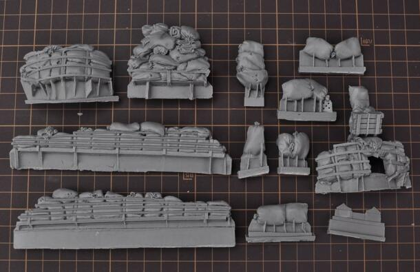 1/35 Modified Parts Resin Bulletproof Package For US M4 M26 M10 M36 Tank 1 Set
