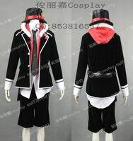 Japanese Anime Diabolik Lovers Cosplay Laito Sakamaki Uniform Costume