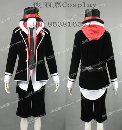 Japanese Anime Diabolik Lovers Cosplay Laito Sakamaki Uniform Costume