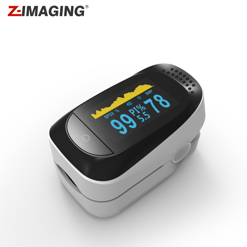 Z-IMAGING Z14 2018 New Fingertip Pulse Oximeter Blood Oxygen Saturation SPO2 Heart Rate Monitor pro f4 finger pulse oximeter heart beat at 1 min saturation monitor pulse heart rate blood oxygen spo2 ce approval green