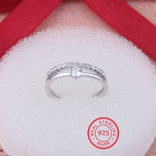 Free Shipping 925 Sterling Silver Rings For Women Jewelry Beautiful Finger Open Rings For Party Birthday
