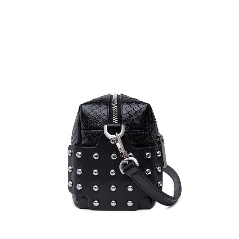 2019 Hot-Zooler naine kott tõeline nahast kotid kuum disainer rist - Käekotid - Foto 5