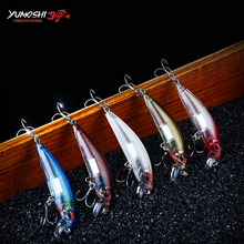 Retail Multiple Colour Sinking Minnow Fishing Lures 12g 7cm Ball Bearing 2017 Model Bait Fishing Lure with two sharp hooks Lure ilure osprey minnow fishing bait multi section slowly sinking lure with hooks
