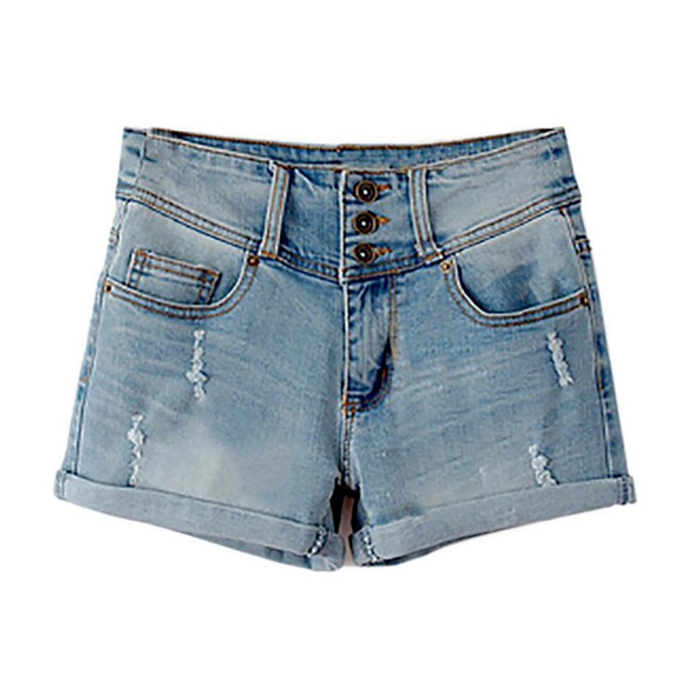 Denim   Shorts   Women Loose 2018 Fashion Elastic High Waist Denim   Shorts   for Women Plus Size Jeans   Short   Sexy Casual   shorts