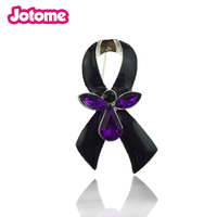 100pcs Purple Day Gift Nurse Hat Epilepsy Sarcoidosis Cancer Awareness Purple Ribbon Angel Campaign Enamel Brooch Pin