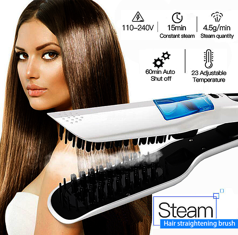 Steam professional iron hair Roller straightener fast