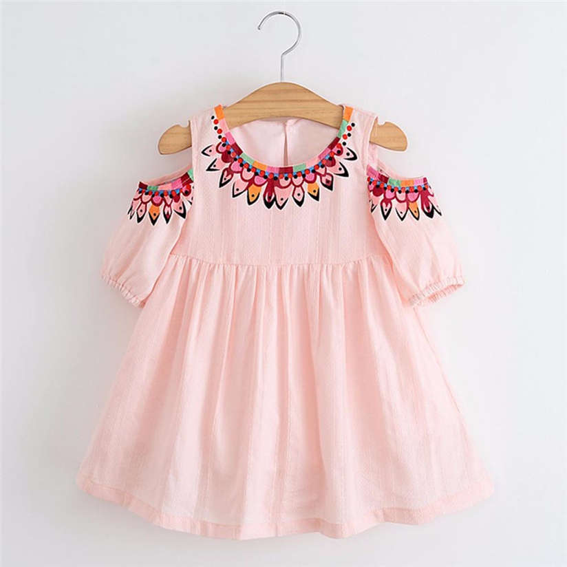 Princess Dress Girls Toddler Kids Baby Girls Clothes Printing Strapless Pageant Princess Tutu Dresses Cute Fashion brand AP28