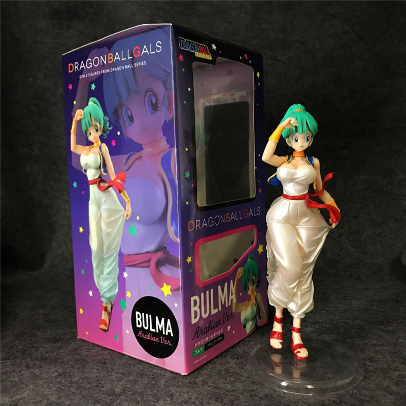Anime dragon ball Z figure Bulma The Arab clothing ver. PVC action figure collection model toys for gift action figure dragon ball z crystal balls dragon star new complete box set japan anime model collection toys for children gift