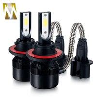 2017 New H7 Car LED Headlight Plug&Play 6000lm 66W Auto Kit Headlamp H1 H3 H4 H8 H9 H11 9005 9006 HB3 HB4 880 881
