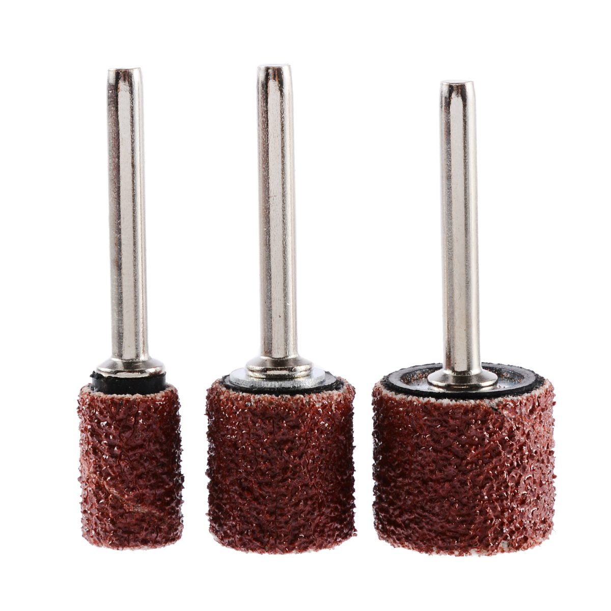 "Hot Sale 63pcs Drum Sanding Bands 1/2 3/8 1/4"" Mandrels Fit Nail Drill Rotary Tools for Metal Polishing Grinding Rotary Tools"