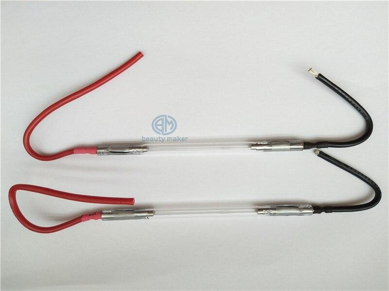 ipl lamp 2pcs cheap ipl xenon lamp 7*65*130mm Quartz tube lamp цена