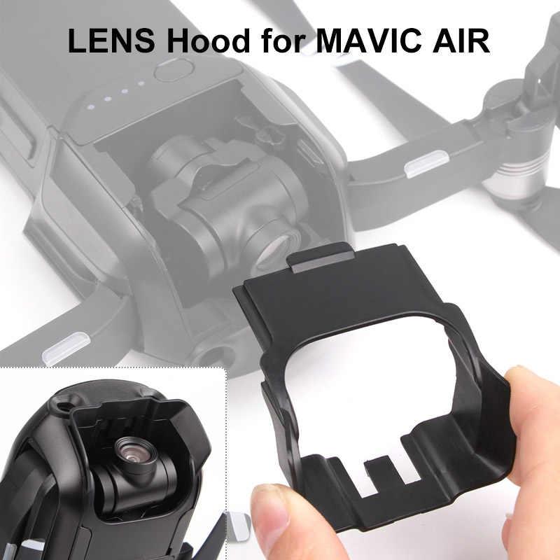 Baru Lensa Kamera Sunhood Kacamata Anti Silau Penutup Lensa Gimbal Protector untuk DJI MAVIC Air Drone Aksesoris