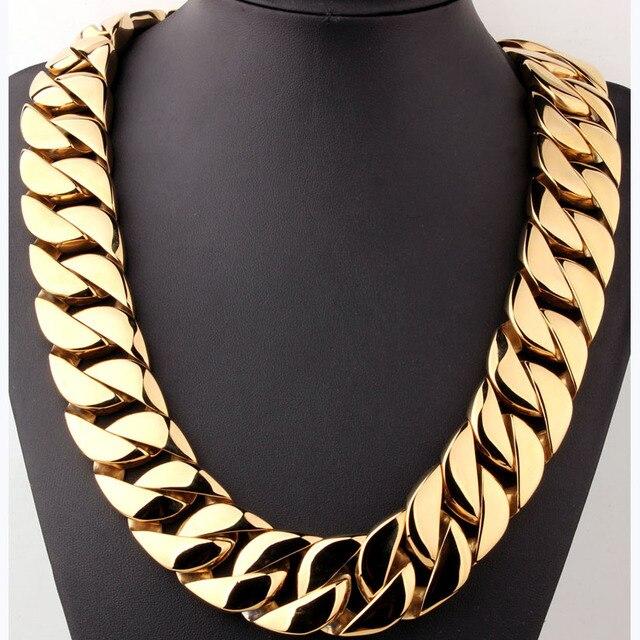 Купить мужская сверхтяжелая плоская цепочка qmzchendy кубинское ожерелье картинки
