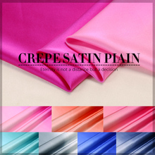 Gradient stretch silk satin fabric 16mm