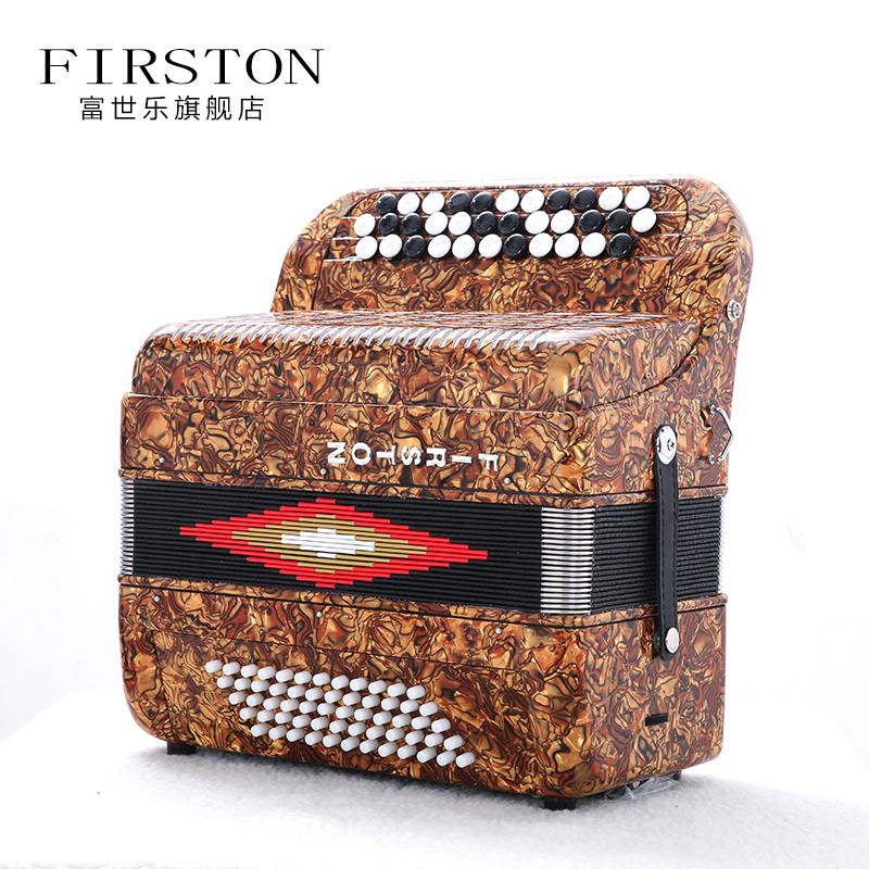 Celluloid 34 Buttons 60 Bass Accordion with case and staps musical instruments professional Piano Accordions professional 13 in 1 piano tuning maintenance tuning tool kit with case for piano musical instruments parts accessories
