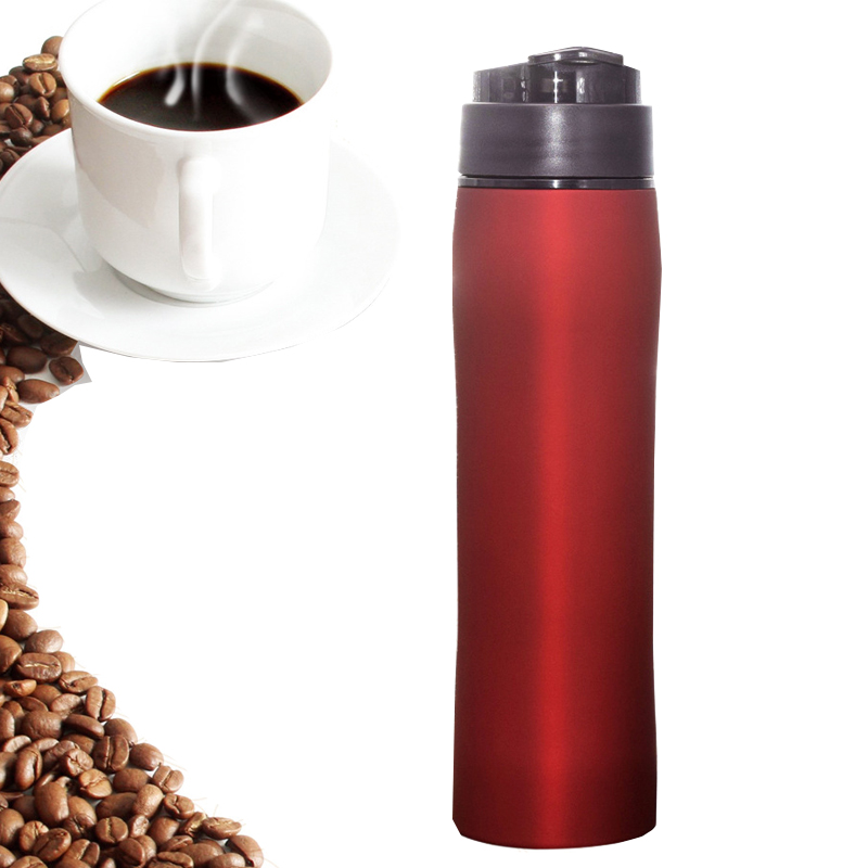 350ML Portable Coffee Maker French Hand Press Cafeteira Espresso Stainless Coffee Machine Insulation Coffee Pot Percolator portable coffee maker manual coffee making machine coffee filter hand travelling french press pot 350 pcs metal filter paper