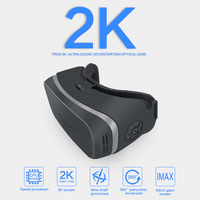 3D Glasses 2K VR Glasses Box Headset 110 Degrees 2560*1440 IPS 5.5 inch TFT Support 2.0 Type C HDMI OUT VR All In One