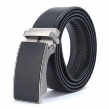New Designer Popular Luxury Cowhide Leather Belt Black Automatic Buckle Belly Waist Business Casual Belts For Men 3.5 Width belts men 140cm 150cm 160cm 2017new fashion business casual male belt strong men best popular selling goods cool choice hot sale