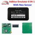 Melhor de Emulação ADBLUE Emulator 8 EM 1 V3.0 Com Sensor De NOX Para Ford/IVECO/DAF/Renault Adblue 8em1 Caminhão Ferramenta de Diagnóstico OBD2