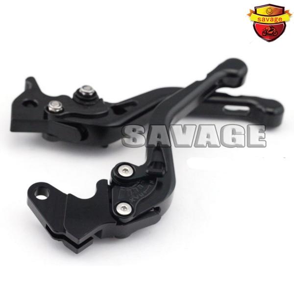 ФОТО For YAMAHA XT660R / XT660X 2004-2013 Black Motorcycle Accessories CNC Aluminum Short Brake Clutch Levers