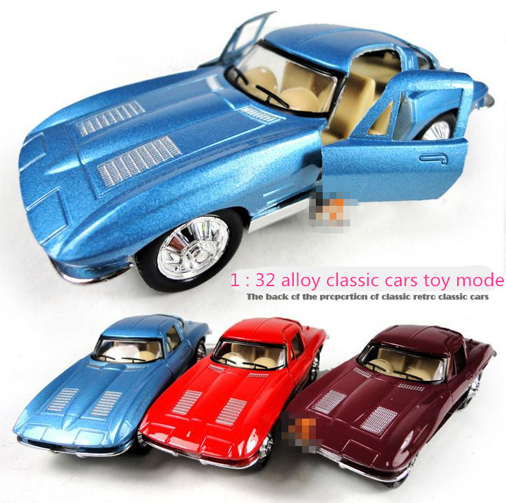 Super cool ! 1 : 32 alloy pull back classic cars toy model ...