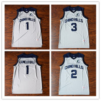 Lamelo Ball 1 Liangelo Ball 3 Lonzo Ball 2 Chino Hills High School Basketball Jersey Stitched
