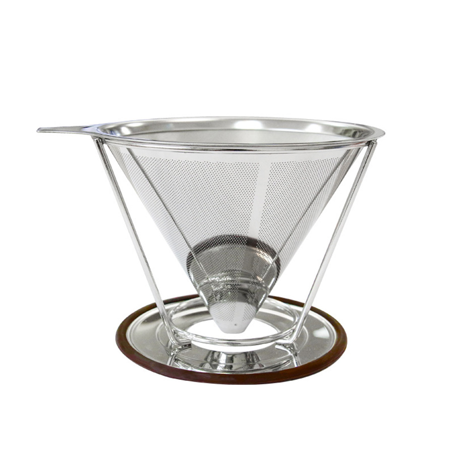 Portable stainless steel coffee espresso coffee dripper - Porta capsule nescafe ...