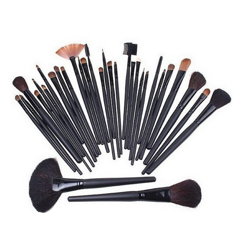 32 Pcs Makeup Brush Set Powder Foundation Eyeshadow Eyeliner Lip Cosmetic Brushes Kit Beauty Tools  High Quality HB88