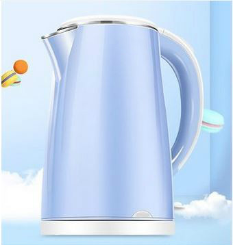 Stainless steel thermal insulation large capacity burning water bottle fast automatic power cut dual anti-hot kettle