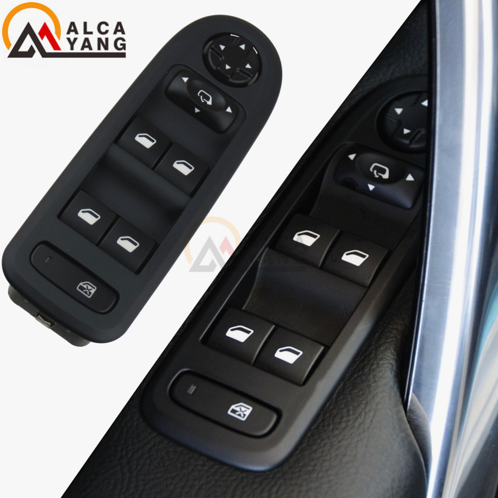 For Peugeot 208 308 2008 Front Left Master Power Window Switch Control 98060866ZE