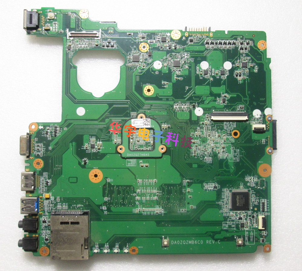 DA0ZQZMB6C0 for acer E1-421 Laptop Motherboard NBM0Z11001 DDR3 Full tested Free shipping