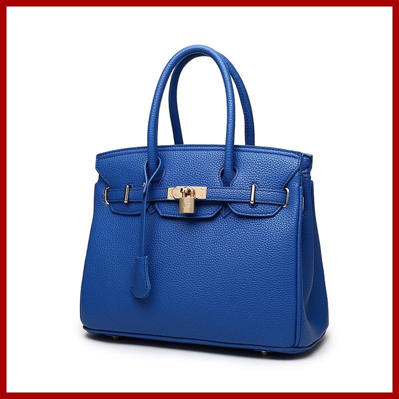 ФОТО genuine leather bag luxury high quality handbags top handle classic women shoulder bags designed bolsa feminina 8 colors