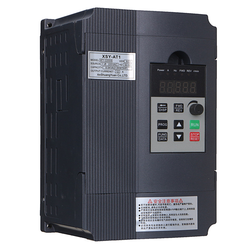 Universal Motor Speed PWM Control Inverters Single Phase Variable 2.2KW 3HP Frequency Inverter Drive Inverter VSD VFD baileigh wl 1840vs heavy duty variable speed wood turning lathe single phase 220v 0 to 3200 rpm inverter driven