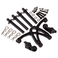 88330 primer palo Brace + posterior + tija Mount + tornillo + Clips HSP Off Road para RC 1/8 piezas