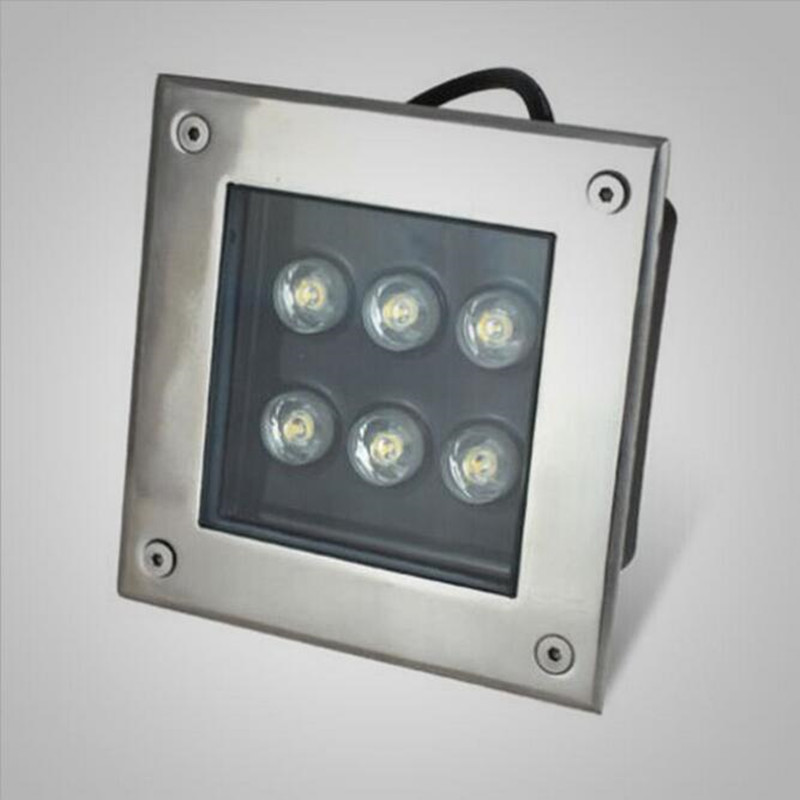 Led Underground Lamps Lights & Lighting New 6w Square Led Underground Lamp Ac85-265v/dc12v Outdoor Waterproof Ip68 Spot Floor Garden Yard Led Inground Light Ce&rohs A Plastic Case Is Compartmentalized For Safe Storage
