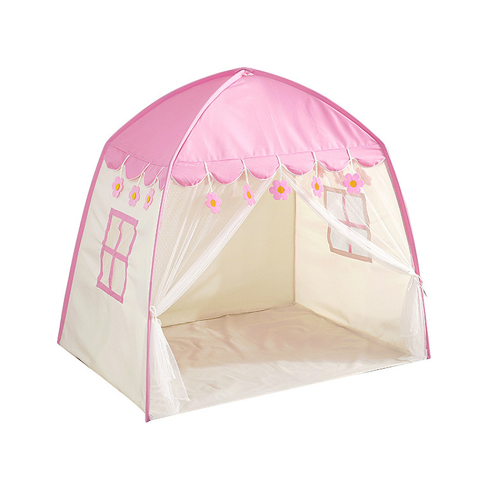 Tente bébé pour enfants jouer tente enfants Fort toile auvent Portable Playhouse pour jeux d'intérieur en plein air