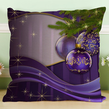 Christmas Gift Linen Cushion Cover
