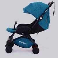 Original Lightweight Baby Stroller Trolley Wagon Portable Folding Baby Stroller Baby Carriage Pram yoyacare Stroller