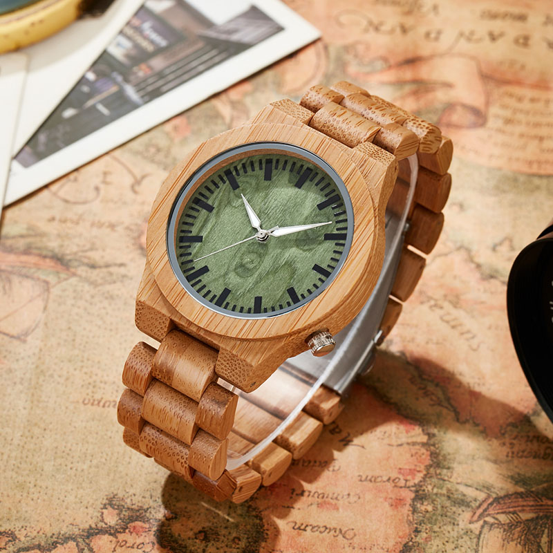 Simple Style Solid Bamboo Wood Wristwatch Mens Women Wrist Quartz Watch Men Ladies Wooden Strap Simple Roman Numerals Watches cool watch designs nature wood watches novel wooden wristwatch simple bamboo genuine leather strap mens womens unisex relojes